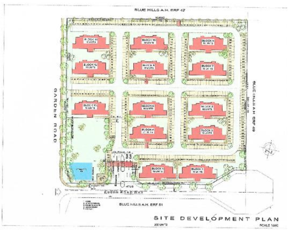 2 Proposed high density developments in the Midrand area.